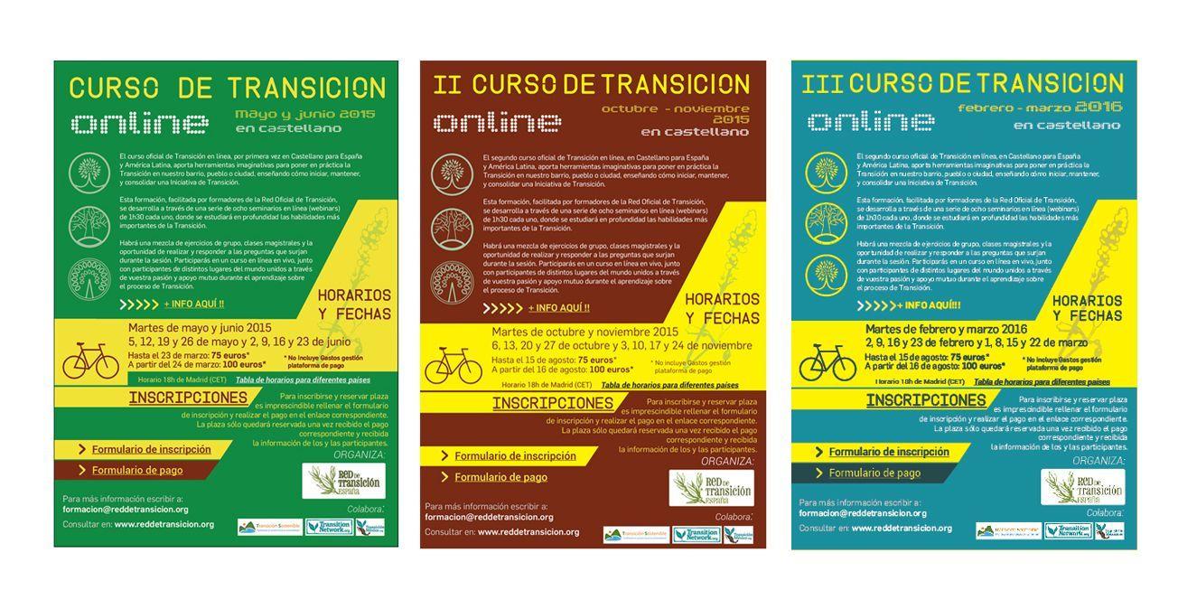 Carteles Cursos Online – RedT